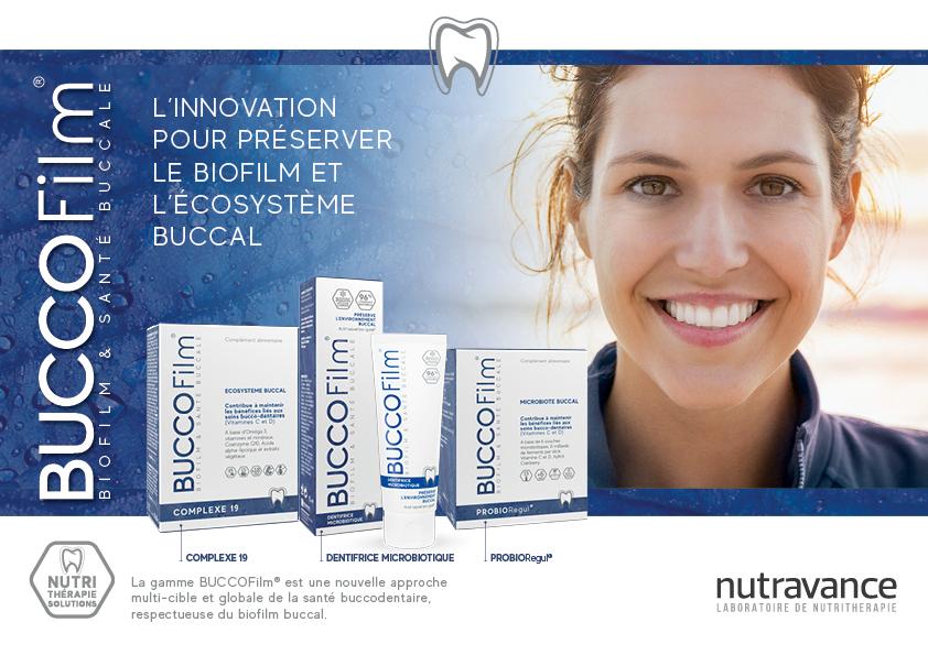 Avec la gamme de soins d'hygiene bucco-dentaire BUCCOFILM, prenez soin de votre bouche et de son biofilm.